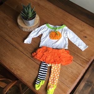 Mud pie Halloween outfit